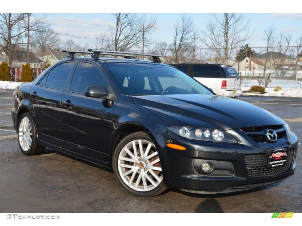2006 black mica mazda mazda6 mazdaspeed6 grand touring. Black Bedroom Furniture Sets. Home Design Ideas