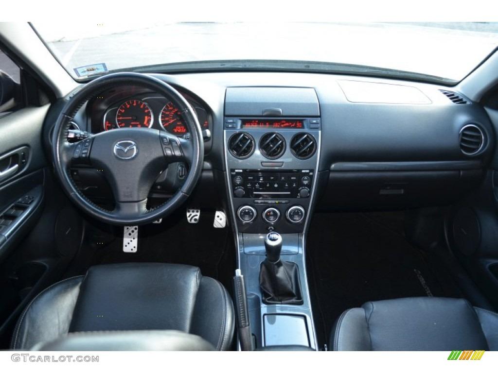 2006 Mazda Mazda6 Mazdaspeed6 Grand Touring Black Dashboard Photo 77160509 Gtcarlot Com