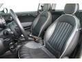 Lounge Carbon Black Leather Front Seat Photo for 2009 Mini Cooper #77171683