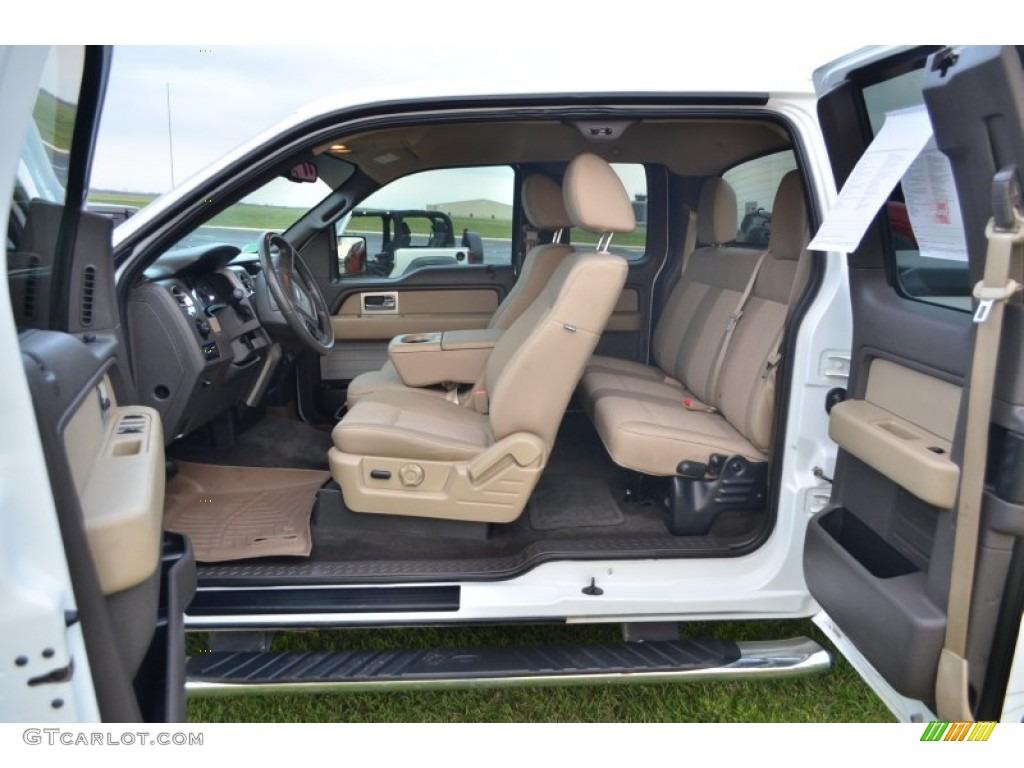 Tan Interior 2010 Ford F150 Xlt Supercab 4x4 Photo
