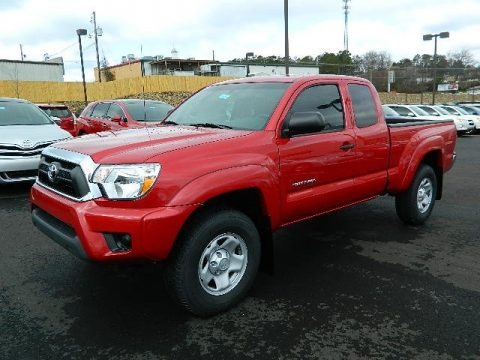 2013 Toyota Tacoma SR5 Prerunner Access Cab Data, Info And Specs