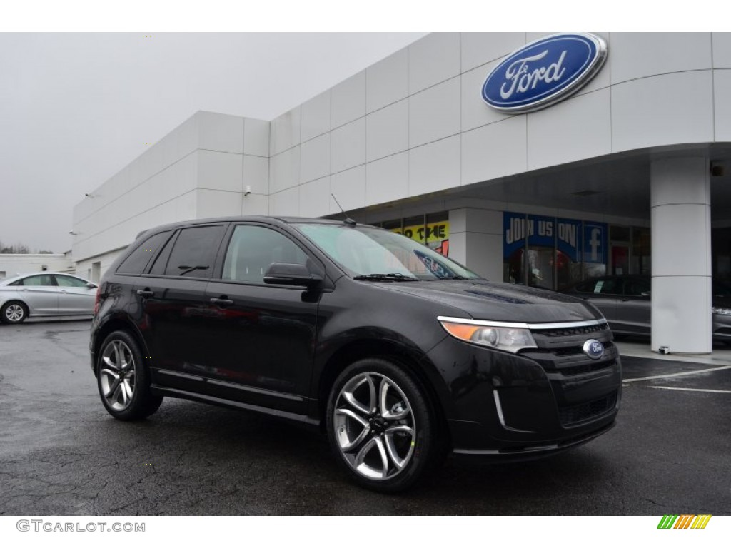 tuxedo black metallic 2013 ford edge sport exterior photo 77182990. Black Bedroom Furniture Sets. Home Design Ideas