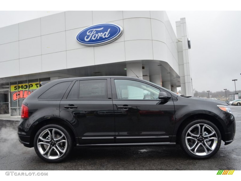 tuxedo black metallic 2013 ford edge sport exterior photo 77183015. Black Bedroom Furniture Sets. Home Design Ideas