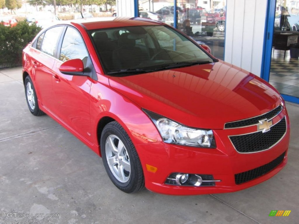 Victory Red 2013 Chevrolet Cruze Lt Rs Exterior Photo 77183455