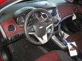 Jet Black/Sport Red 2013 Chevrolet Cruze Interiors