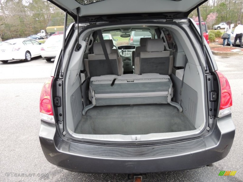 2004 nissan quest 3.5 sl trunk photo #77187224 | gtcarlot