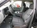 2013 Black Chevrolet Silverado 1500 LS Crew Cab 4x4  photo #11