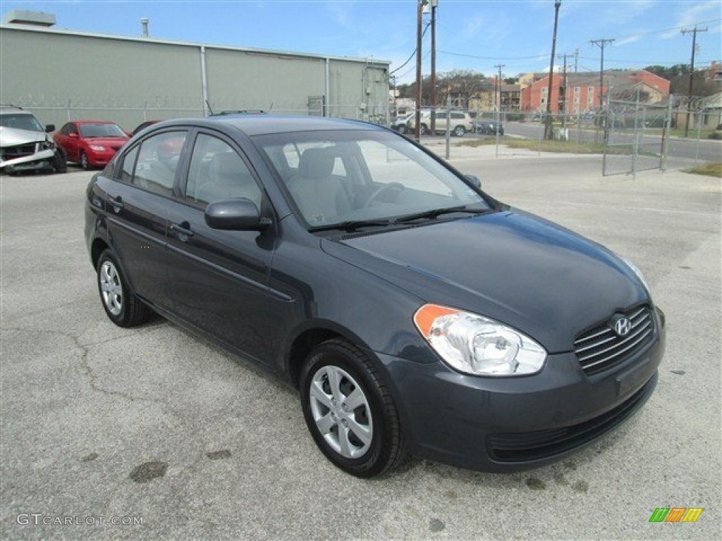 Charcoal Gray 2011 Hyundai Accent Gls 4 Door Exterior Photo 77193145 Gtcarlot Com