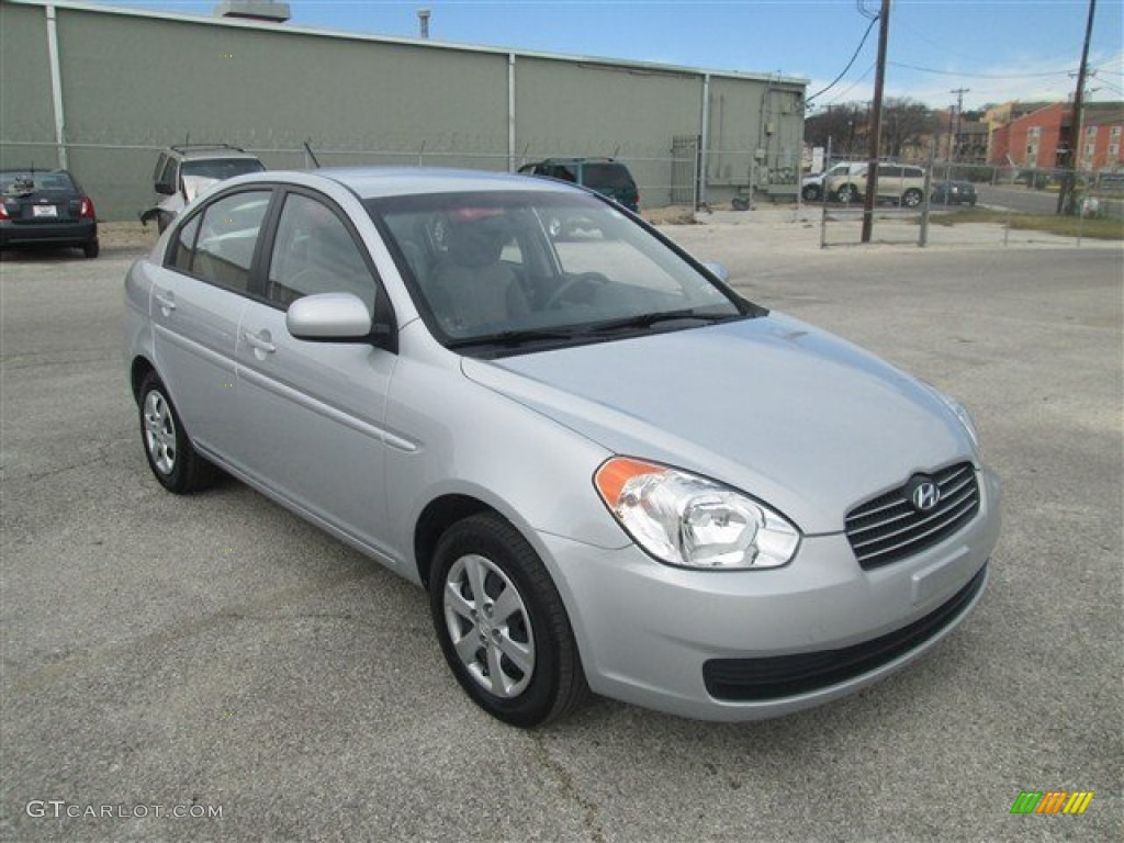 Hyundai Accent Silver Paint Code