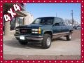 Forest Green Metallic 1995 GMC Sierra 2500 SLE Extended Cab 4x4