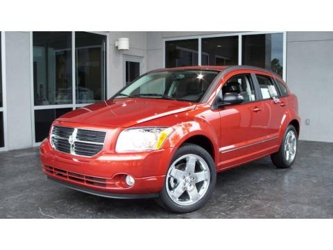 2009 Sunburst Orange Pearl Dodge Caliber R/T