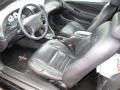 1999 Ford Mustang Dark Charcoal Interior Prime Interior Photo