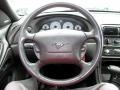 1999 Ford Mustang Dark Charcoal Interior Steering Wheel Photo