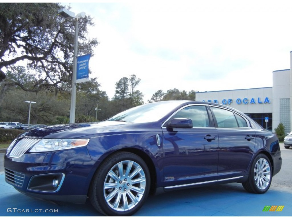 2011 kona blue metallic lincoln mks ecoboost awd 77166984 2012 Lincoln MKZ