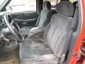 Graphite Gray Front Seat Photo for 2000 Chevrolet Blazer #77213255