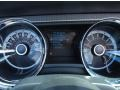 2013 Ford Mustang Brick Red/Cashmere Accent Interior Gauges Photo
