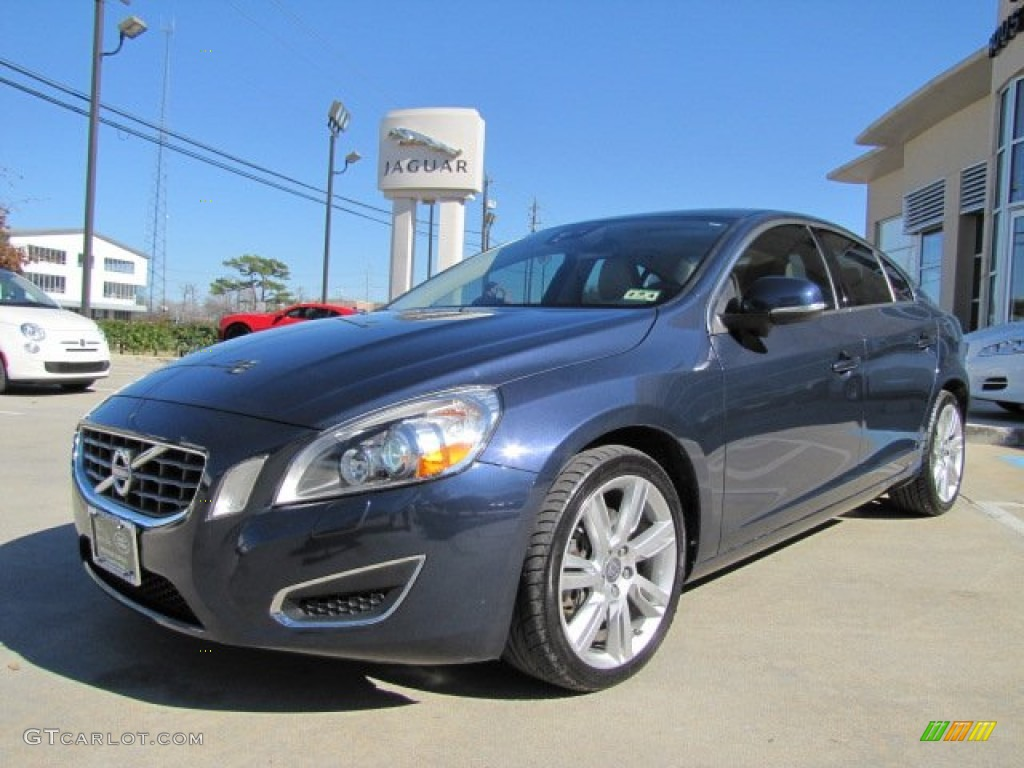 caspian blue metallic 2011 volvo s60 t6 awd exterior photo. Black Bedroom Furniture Sets. Home Design Ideas