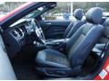 2013 Ford Mustang California Special Charcoal Black/Miko-suede Inserts Interior Front Seat Photo