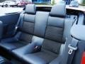 2013 Ford Mustang California Special Charcoal Black/Miko-suede Inserts Interior Rear Seat Photo