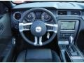 2013 Ford Mustang California Special Charcoal Black/Miko-suede Inserts Interior Dashboard Photo