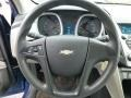 Jet Black/Light Titanium Steering Wheel Photo for 2010 Chevrolet Equinox #77222127