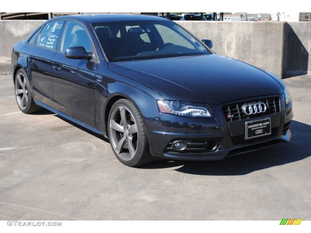 2012 Moonlight Blue Metallic Audi S4 3 0t Quattro Sedan