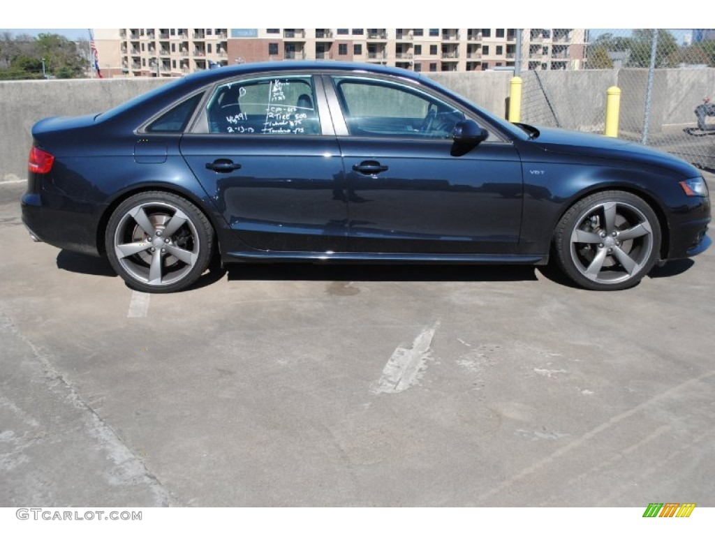 Moonlight Blue Metallic 2012 Audi S4 3 0t Quattro Sedan Exterior Photo 77224380 Gtcarlot Com