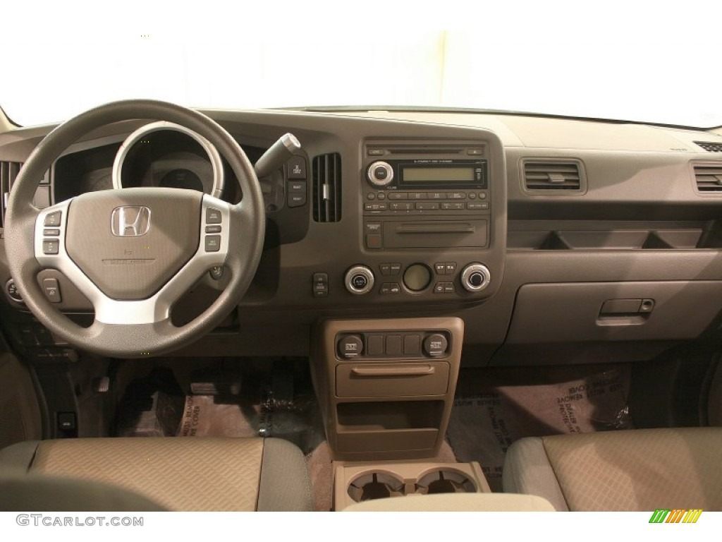 2007 Honda Ridgeline Rts Olive Dashboard Photo 77225195