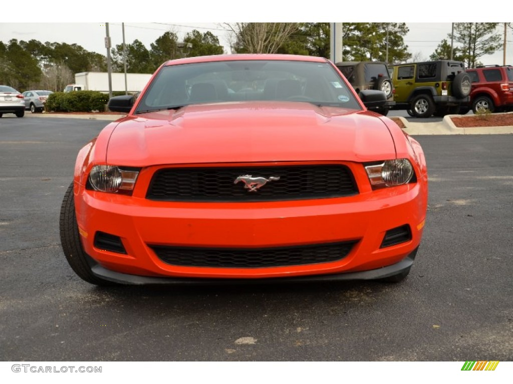 race red 2012 ford mustang v6 premium coupe exterior photo 77231297. Black Bedroom Furniture Sets. Home Design Ideas