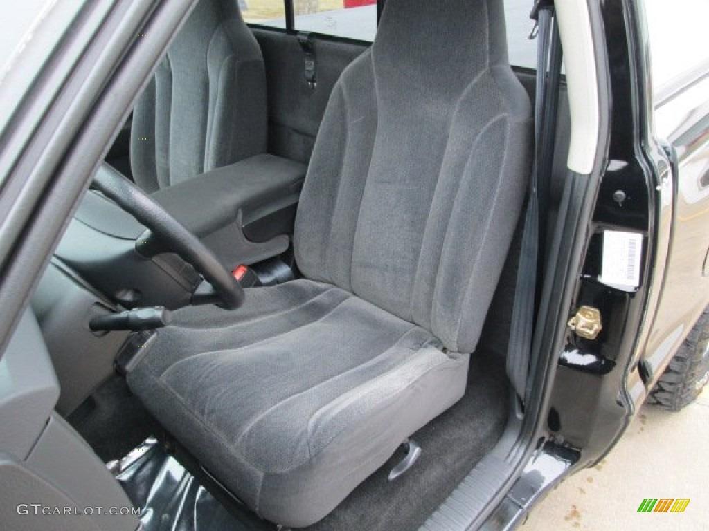 2004 Dakota Sport Regular Cab 4x4 - Black / Dark Slate Gray photo #2