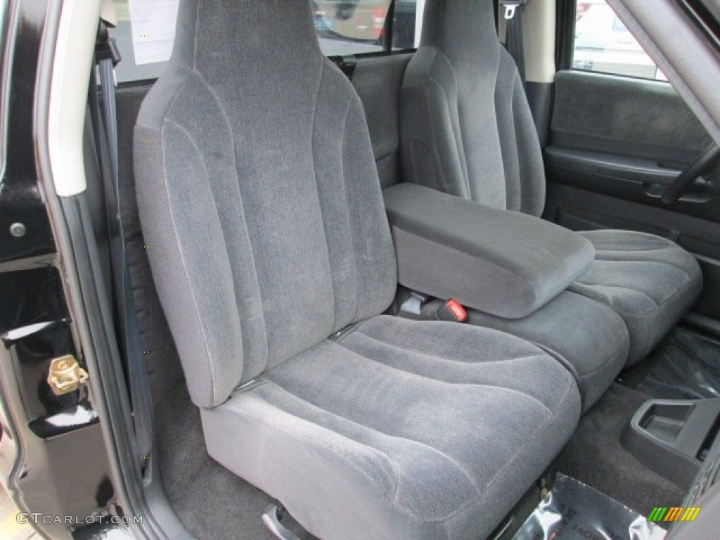 2004 Dakota Sport Regular Cab 4x4 - Black / Dark Slate Gray photo #33
