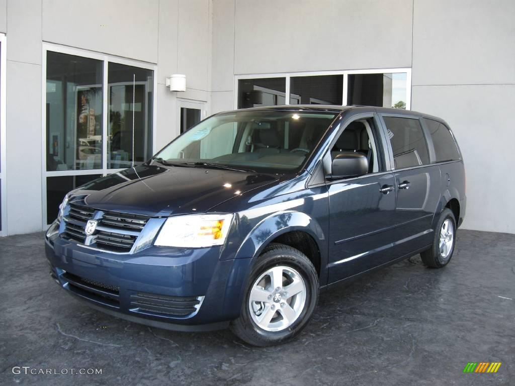2009 modern blue pearl dodge grand caravan se 7692094. Black Bedroom Furniture Sets. Home Design Ideas