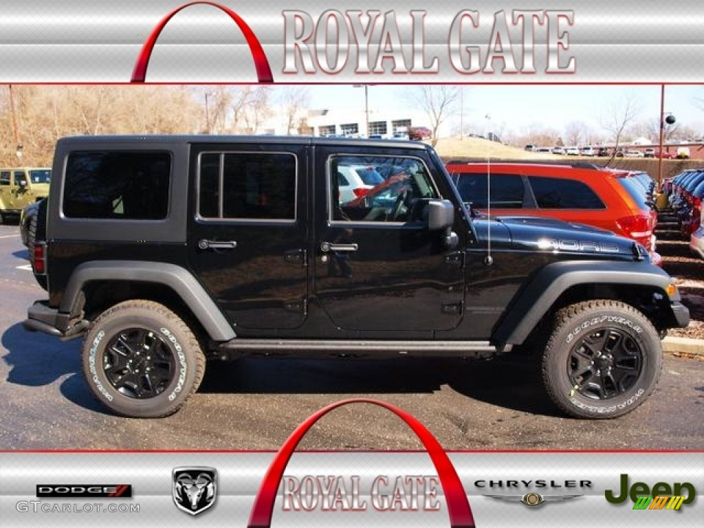 2013 black jeep wrangler unlimited moab edition 4x4