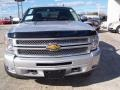 2013 Silver Ice Metallic Chevrolet Silverado 1500 LT Crew Cab 4x4  photo #1