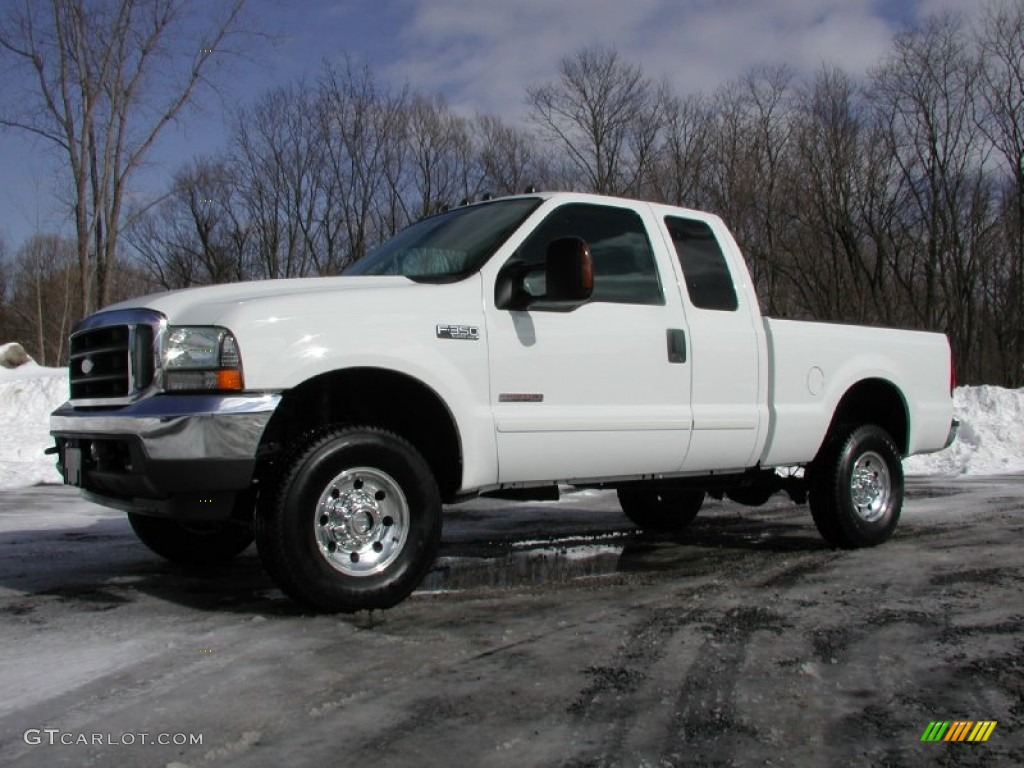 oxford white 2003 ford f350 super duty xlt supercab 4x4 exterior photo 77244474. Black Bedroom Furniture Sets. Home Design Ideas