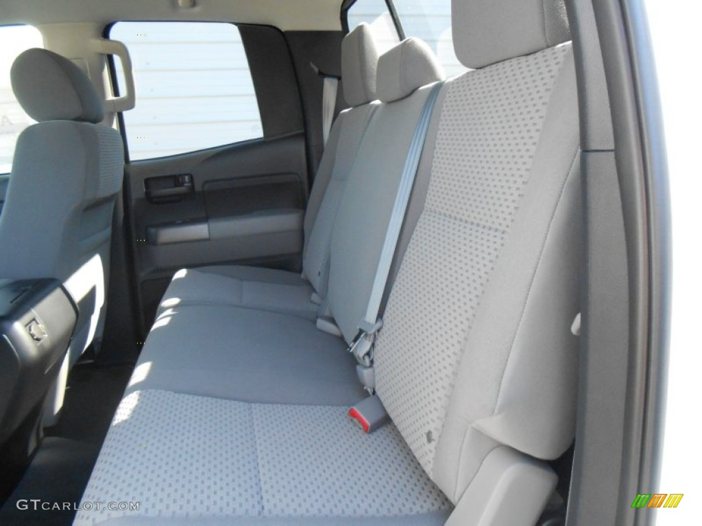 2013 Tundra TSS Double Cab - Super White / Graphite photo #21