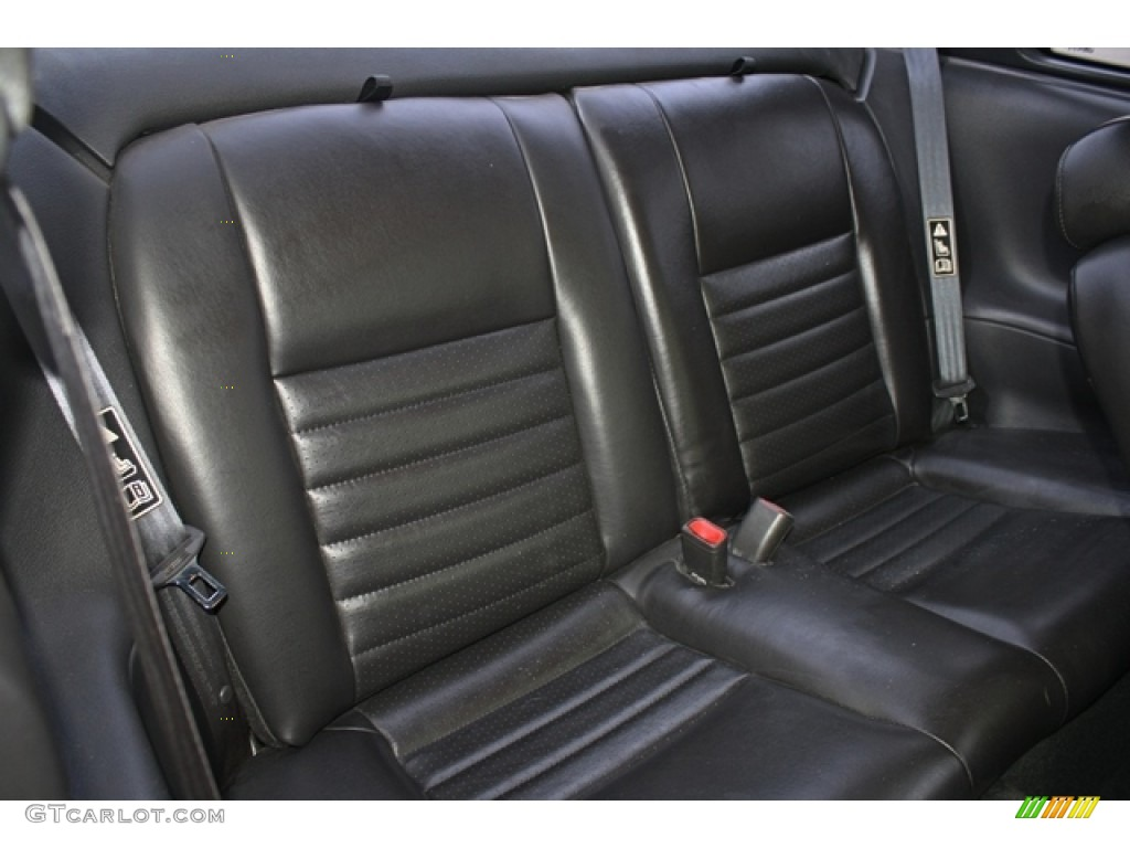 2002 Ford Mustang GT Coupe Rear Seat Photo #77251217