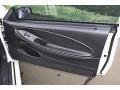 Dark Charcoal 2002 Ford Mustang GT Coupe Door Panel