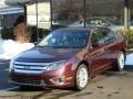 2011 Bordeaux Reserve Metallic Ford Fusion SEL V6  photo #1