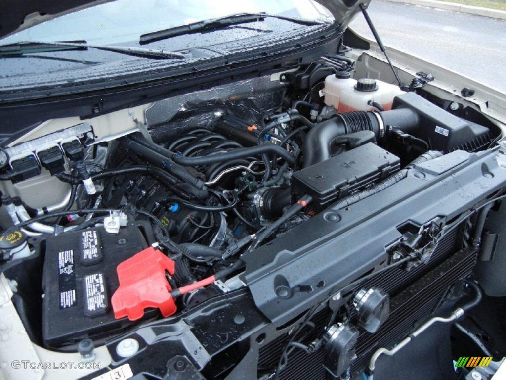 2013 ford f150 xlt supercrew 4x4 5 0 liter flex fuel dohc 32 valve ti vct v8 engine photo. Black Bedroom Furniture Sets. Home Design Ideas
