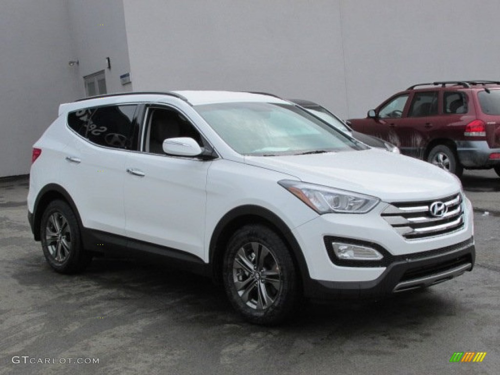 2013 frost white pearl hyundai santa fe sport 77218668 photo 3 car color. Black Bedroom Furniture Sets. Home Design Ideas