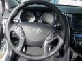Blue Steering Wheel Photo for 2013 Hyundai Elantra #77257784