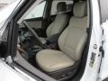 Beige Front Seat Photo for 2013 Hyundai Santa Fe #77257849