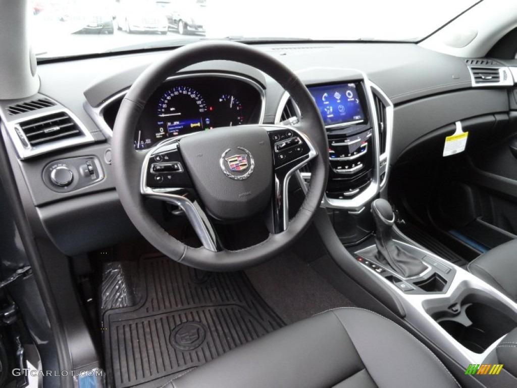 Ebony Ebony Interior 2013 Cadillac Srx Fwd Photo 77262545