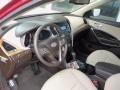 Beige Prime Interior Photo for 2013 Hyundai Santa Fe #77271515