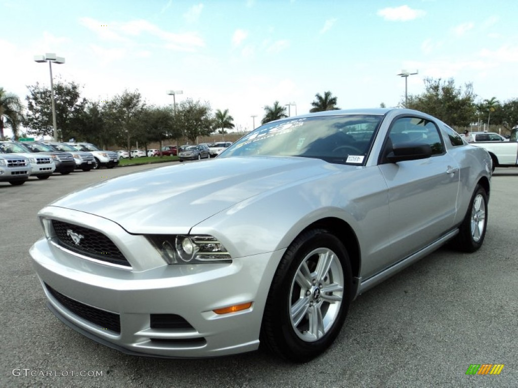 Ingot Silver Metallic 2013 Ford Mustang V6 Coupe Exterior
