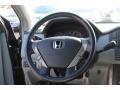 2005 Honda Pilot Gray Interior Steering Wheel Photo