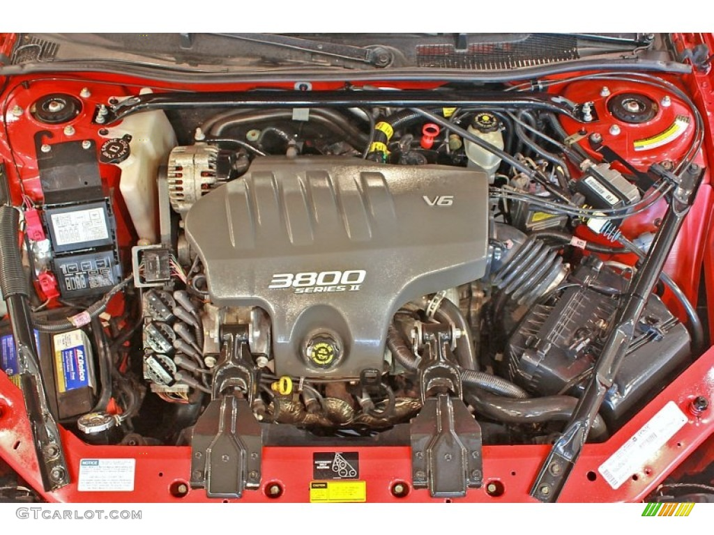 on 2001 Monte Carlo Ss Engine