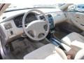 Ivory 2002 Honda Accord Interiors