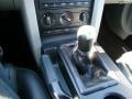 2009 Ford Mustang Black/Dove Interior Transmission Photo